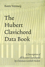 [book cover: The Hubert Clavichord Data Book]