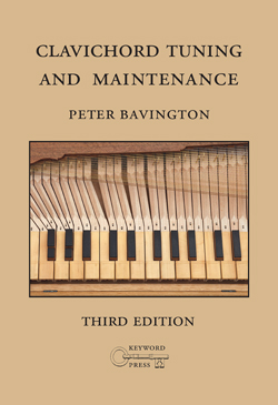 [book cover: Clavichord Tuning and Maintenance]